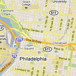 Center City, Philadelphia, PA - Google Maps - Liz Greco\'s blog